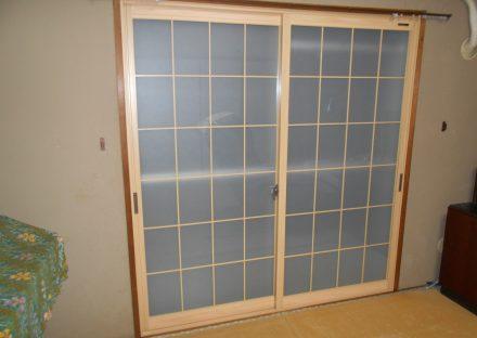 和室には和障子風の内窓を選べます。