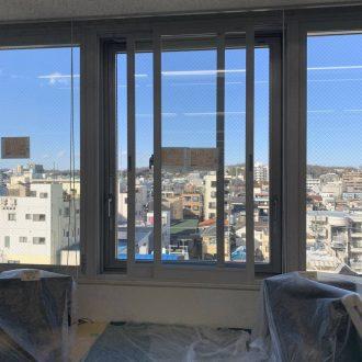 東京都八王子市 テナントビル ワンフロア事務所 内窓設置工事