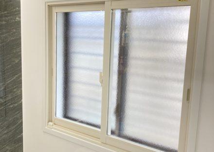 浴室も内窓で快適に ヒートショック予防にも~内窓工事 LIXIL浴室インプラス O様~